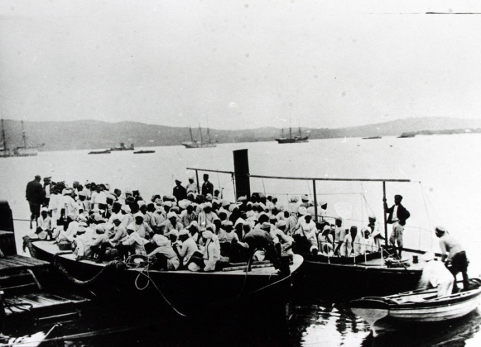 The arrival of Indian indentured labourers in South Africa (www.ulwazi.org)