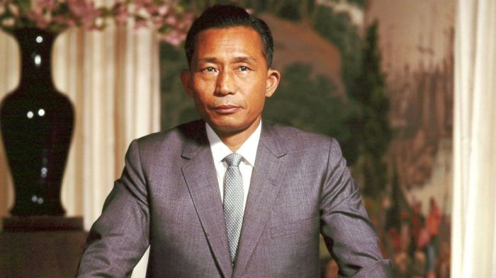 General Park Chung-hee, South Korean president from 1962-1979