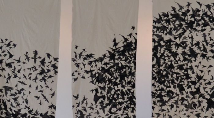 Vuli Nyoni's Murmuration at the GUS Art Gallery in Dorp Street last year.