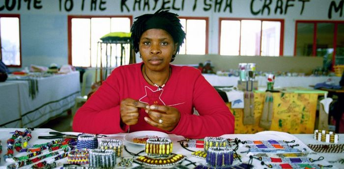 No buyers, no job: Women at the Khayelitsha craft market rely on large numbers of tourists to make a living