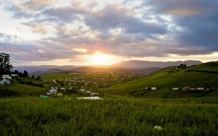 Beautiful but poor: The Transkei is still largely untouched by capitalism Source: