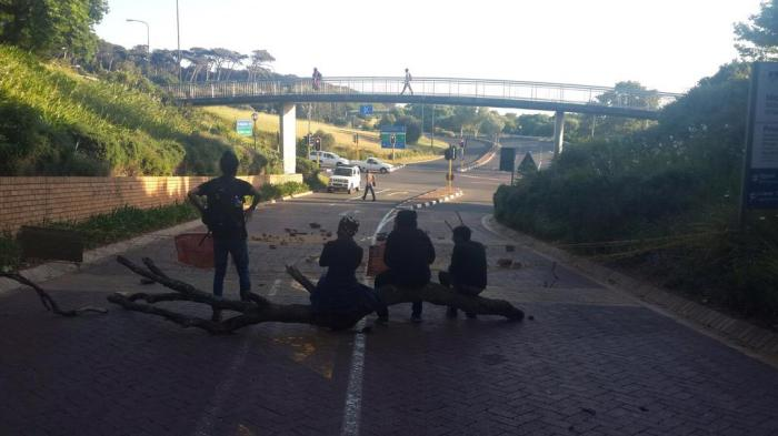 Revolutionary actions at UCT taking its toll: Image tweeted this morning by RhodesMustFall
