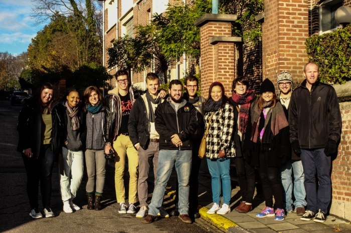 The center of it all: Johan was part of the Leuven/Stellenbosch ThinkTank 2015