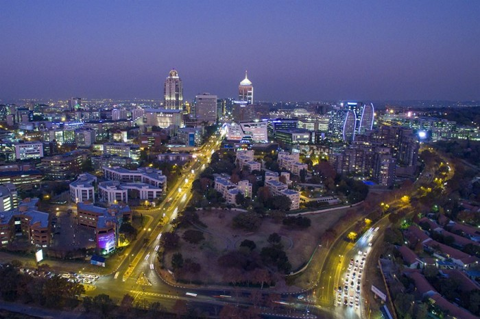 Roads to prosperity? Sandton is the hub of South Africa's financial industry