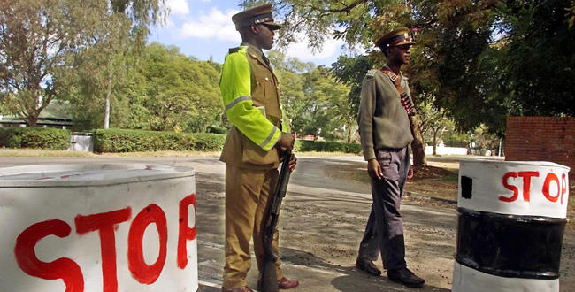 police-road-block-in-zimbabwe
