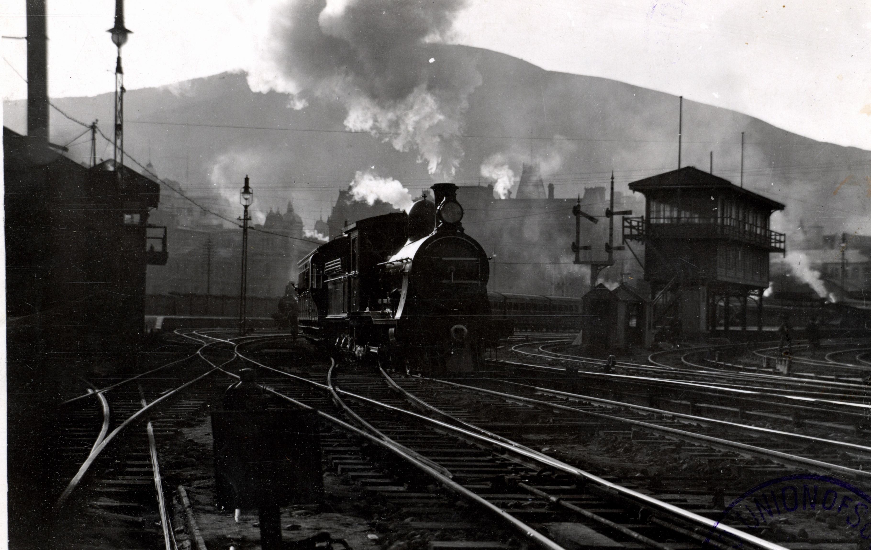 Cape Town railway historic