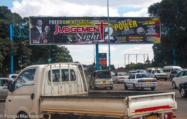 Harare billboard