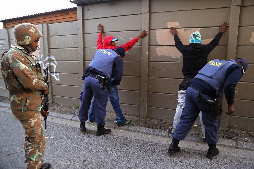 South Africa Gang Violence